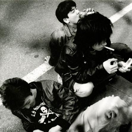 Theピーズ『リハビリ中断』のジャケット写真 (okmusic UP\'s)