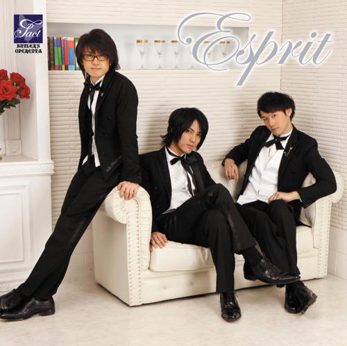 """配信が開始される音楽ユニット""""Tact""""のファーストミニアルバム『Esprit』 (c)ListenJapan"""