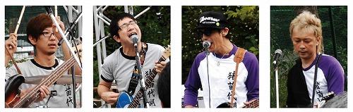 故郷のために再結集した福島県人バンド「猪苗代湖ズ」 (c)Listen Japan