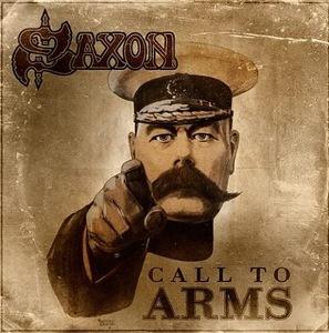 5月に海外リリース予定のサクソンの19thアルバム『CALL TO ARMS』 (c)Listen Japan