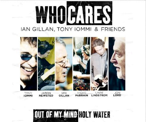 Whocaresのチャリティーシングル「Out of My Mind/Holy Water」 (c)Listen Japan