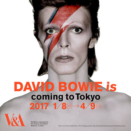 大回顧展「DAVID BOWIE is」ビジュアル (okmusic UP\'s)