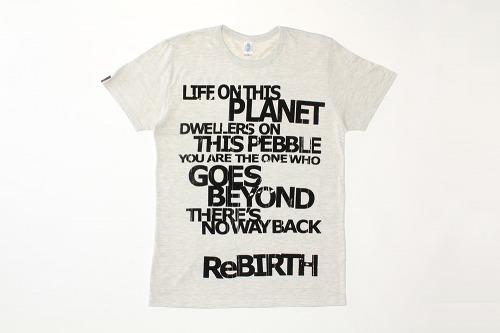 ブンブンサテライツのチャリティーTシャツ(イメージ画像) (c)Listen Japan
