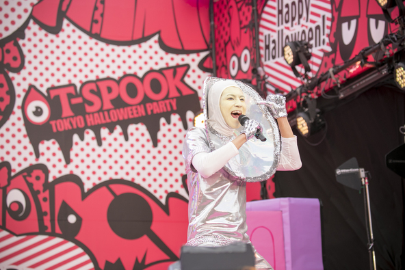10月29日@「めざましテレビPRESENTS T-SPOOK」 (okmusic UP's)