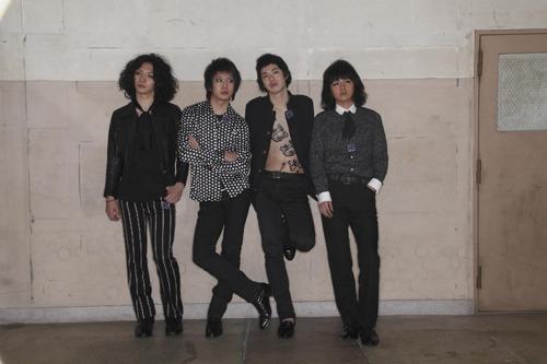 公開収録ライブ『FACTORY』に出演が決定した若手ロックバンド黒猫チェルシー (c)Listen Japan