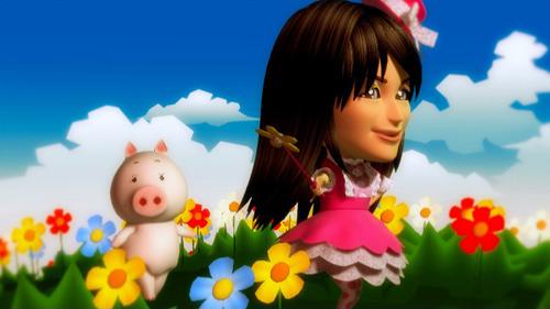 小林ゆうと豚さんの世界♪と銘打たれた「るんるんりる らんらんらら」PVより (C)2011 遠藤海成・メディアファクトリー/まりあ†ほりっくあらいぶ製作委員会 (c)ListenJapan