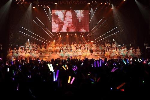 SKE48が単独公演<SKE48に、今、できること>にて全国ツアー開催を発表。(C)PYTHAGORAS PROMOTION (c)Listen Japan