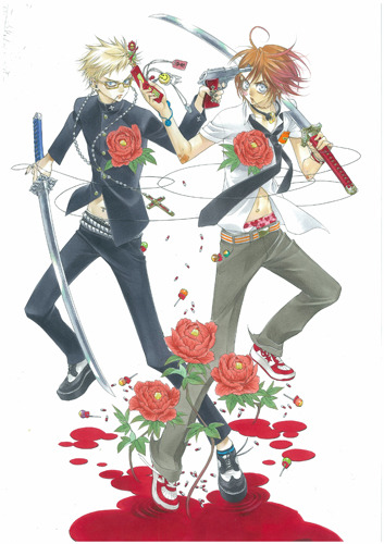 「月刊ASUKA」連載の人気作「ZONE-00」 (C)Kiyo QJO2011/KADOKAWASHOTEN (c)ListenJapan