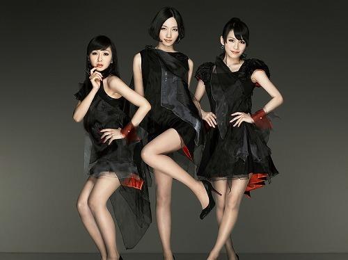 楽曲「ポリリズム」が映画『カーズ2』の挿入歌に決定したPerfume (c)Listen Japan