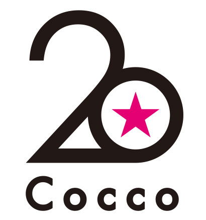 「Cocco20」ロゴ (okmusic UP's)