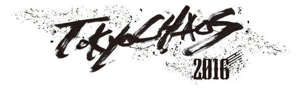 「Tokyo Chaos 2016」ロゴ (okmusic UP\'s)