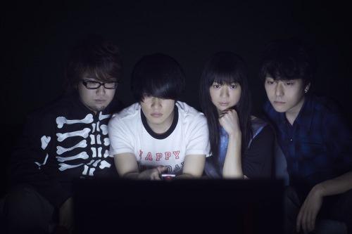 新曲「yoakemae」のリリースを発表したBase Ball Bear (c)Listen Japan