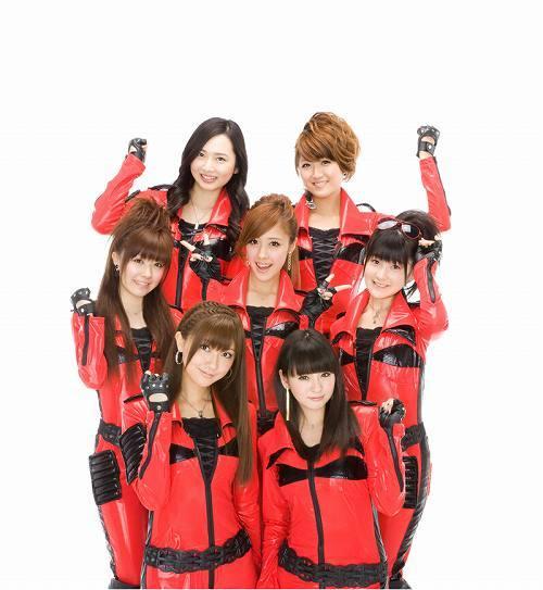 新曲「愛の弾丸」の着うた(R)のリリースをスタートしたBerryz工房 (c)Listen Japan