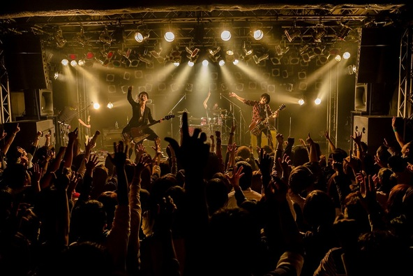 11月11日@名古屋ell FITS ALL (okmusic UP\'s)