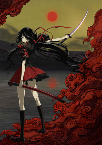 7月から放送がスタートするTVアニメ「BLOOD-C」 (C)2011 Production I.G, CLAMP/ Project BLOOD-C TV (c)ListenJapan