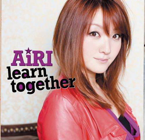 AiRI「learn together」ジャケット画像 (c)ListenJapan