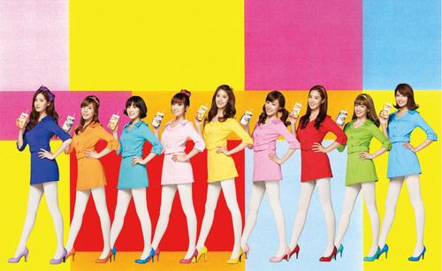 「リプトン紙パック500ml」CM<SING!!! DANCE!Lipton!>篇ビジュアル (c)Listen Japan