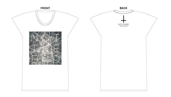 ナイトメア × WOWOWオリジナルコラボTシャツ (okmusic UP's)