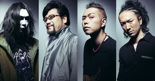 アルバム『5年後の世界』リリースで活動再開する特撮 (c)Listen Japan