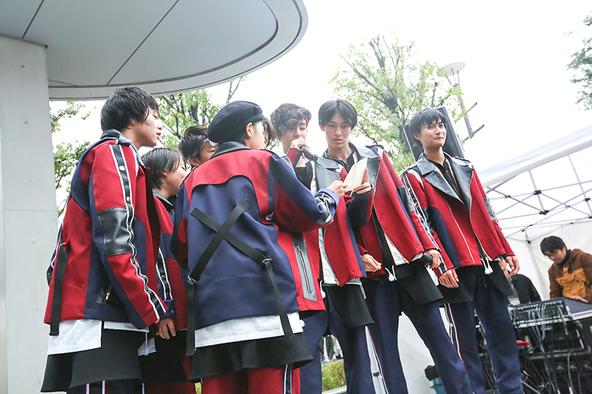 11月19日@東京・ダイバーシティ東京プラザ フェスティバル広場 (okmusic UP's)