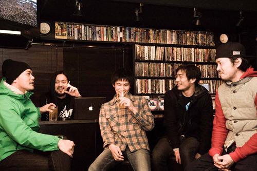 『TONE RIVER JAM'11』に出演する千葉県・柏市が誇るハードコアバンドKAMOMEKAMOME (c)Listen Japan