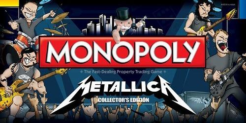 メタリカをテーマにしたボードゲーム<MONOPOLY METALLICA : Collector's Edition> (c)Listen Japan