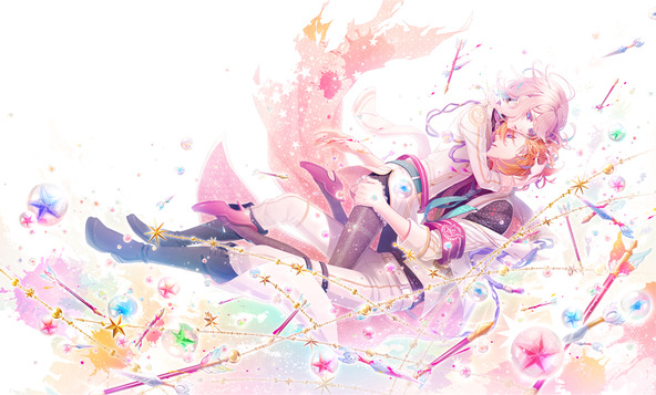 恋愛アドベンチャーゲーム「BinaryStar」通常盤ジャケット(見開き) (okmusic UP\'s)