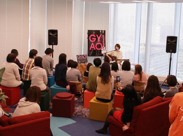 11月25日(金)@GYAO本社 (okmusic UP's)