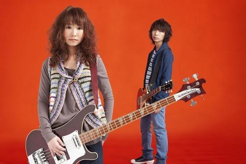 北海道出身の男女2ピースバンド チュール (c)Listen Japan