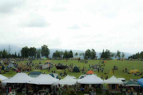野外フェスとしては理想的な環境で開催される『TAICOCLUB camps'11』 (c)Listen Japan