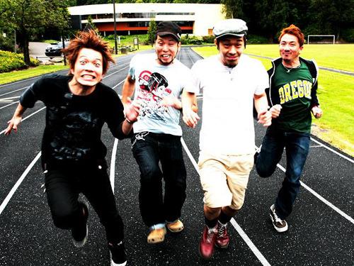 ショートチューンアルバムをリリースするGOOD4NOTHING (c)Listen Japan