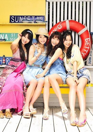 7月6日に2ndシングルをリリースするNot yet (c)Listen Japan