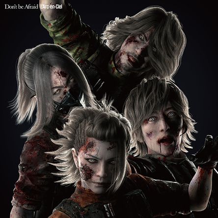 シングル「Don't  be  Afraid」【完全生産限定 BIOHAZARD(R) × L'Arc-en-Ciel盤】(Zombie) (okmusic UP's)