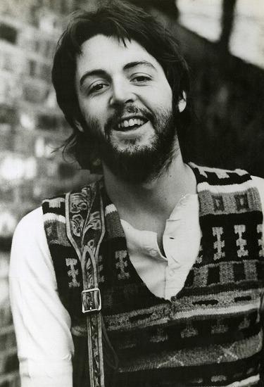 1969年ソロ作発売当時リンダが撮影したポール・マッカートニーの写真 Photo By Linda McCartney (c)Listen Japan