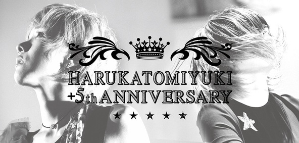 HARUKATOMIYUKI +5th ANNIVERSARY (okmusic UP's)