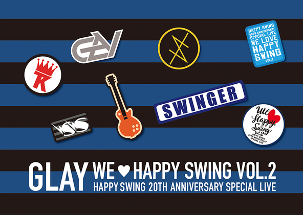 DVD&Blu-ray「HAPPY SWING 20th Anniversary SPECIAL LIVE 〜We◆Happy Swing〜 Vol.2」【HAPPY SWING限定盤 SPECIAL BOX】 (okmusic UP\'s)