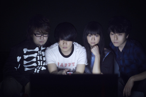 SHIBUYA-AXの模様を2媒体同時配信するBase Ball Bear (c)Listen Japan
