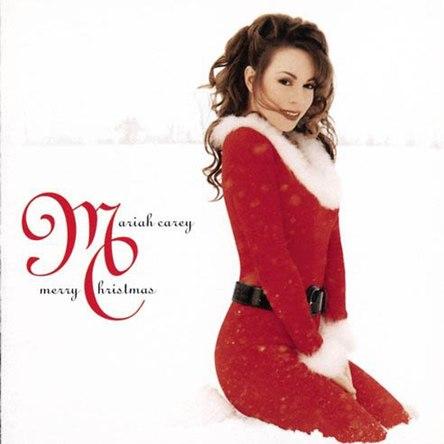 マライア・キャリー『Merry Christmas』のジャケット写真 (okmusic UP\'s)