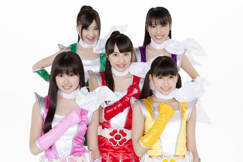 初のアニサマ出演が決定した人気アイドルユニット・ももいろクローバーZ (C)Animelo Summer Live 2011/MAGES. (c)ListenJapan