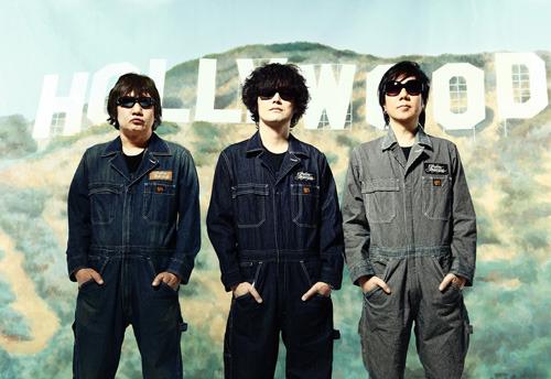 同世代のみのライブイベント『Born in The '60s 2011』を開催するthe pillows (c)Listen Japan