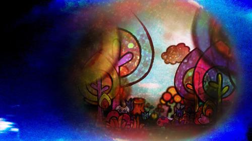 劇団イヌカレーが手掛けた「うさぎドロップ」ED映像より (C)2011 宇仁田ゆみ/祥伝社/アニメ「うさぎドロップ」製作委員会 (c)ListenJapan
