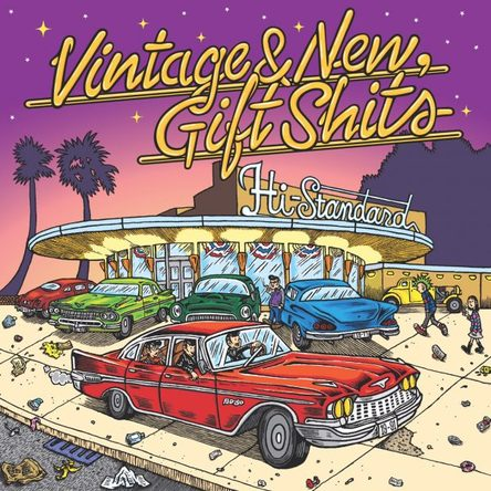 「Happy Xmas(War Is Over)」収録シングル「Vintage & New, Gift Shits」(Hi-STANDARD) (okmusic UP\'s)