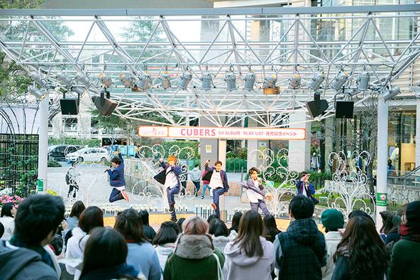 12月11日@ららぽーと横浜 (okmusic UP's)
