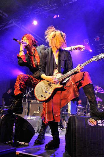 GLAY、台湾での公演模様1 (c)Listen Japan