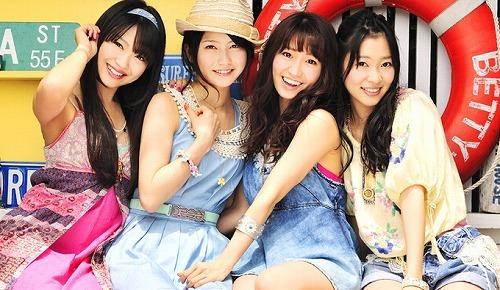 2ndシングル「波乗りかき氷」発売記念イベントを開催したNot yet (c)Listen Japan