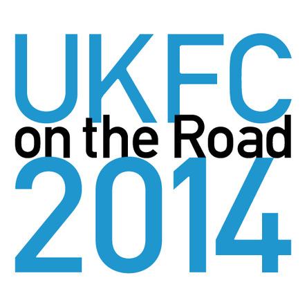 「UKFC on the Road 2014」ロゴ (okmusic UP\'s)
