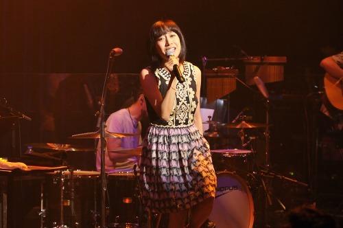 ビルボード東京で全国ツアーを締めくくった一青 窈 (c)Listen Japan