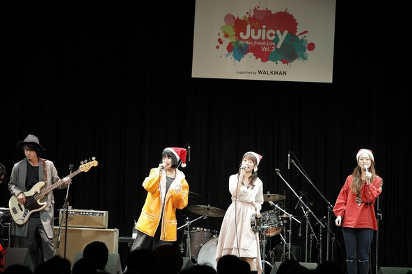 "12月16日(金)@『Hi-Res Fresh Live""Juicy""Vol.3  supported by WALKMAN(R)』 (okmusic UP\'s)"