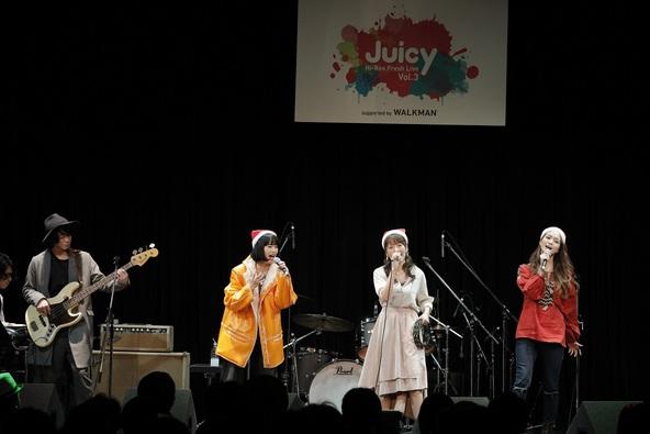 """12月16日(金)@『Hi-Res Fresh Live""""Juicy""""Vol.3  supported by WALKMAN(R)』 (okmusic UP's)"""