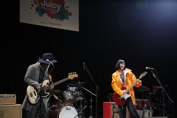 """12月16日(金)@『Hi-Res Fresh Live""""Juicy""""Vol.3  supported by WALKMAN(R)』(anderlust) (okmusic UP's)"""